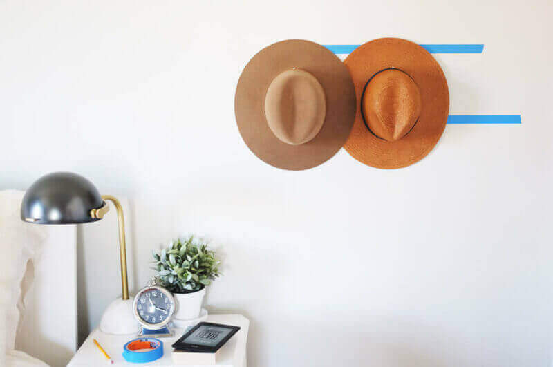 She's So Bright Bedroom Hat DIY