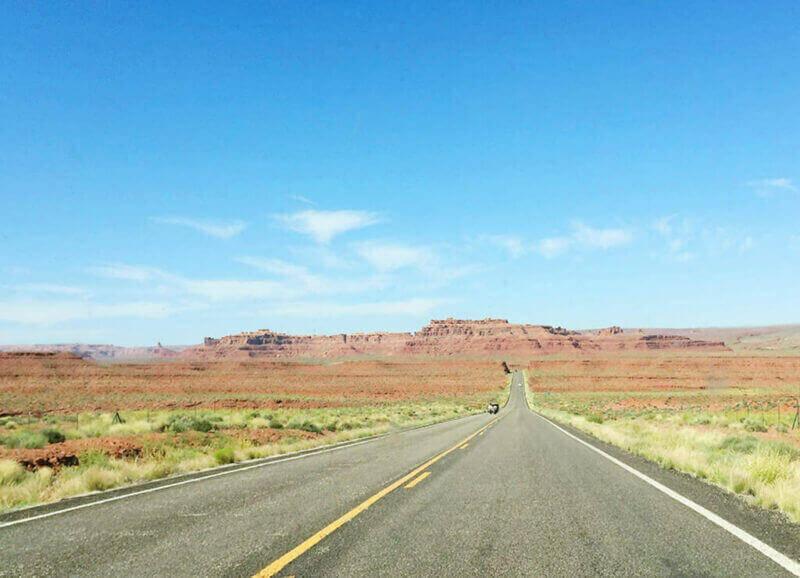 Desert plateaus