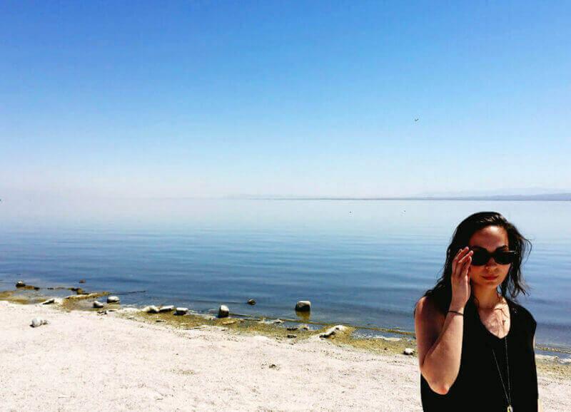 So hot at the Salton Sea!