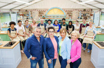 Season 3 Cast of the Great British Baking Show