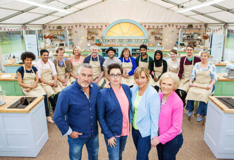 Season 3 Cast of the Great British Baking Show