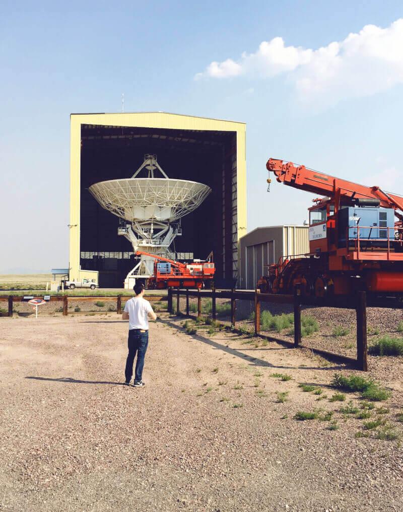 Antenna Assembly Building at VLA