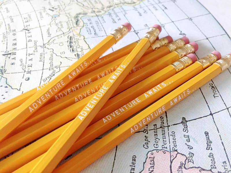Earmark's Adventure Awaits... pencils on Etsy