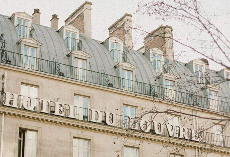 Hotel Du Louvre, Paris, France