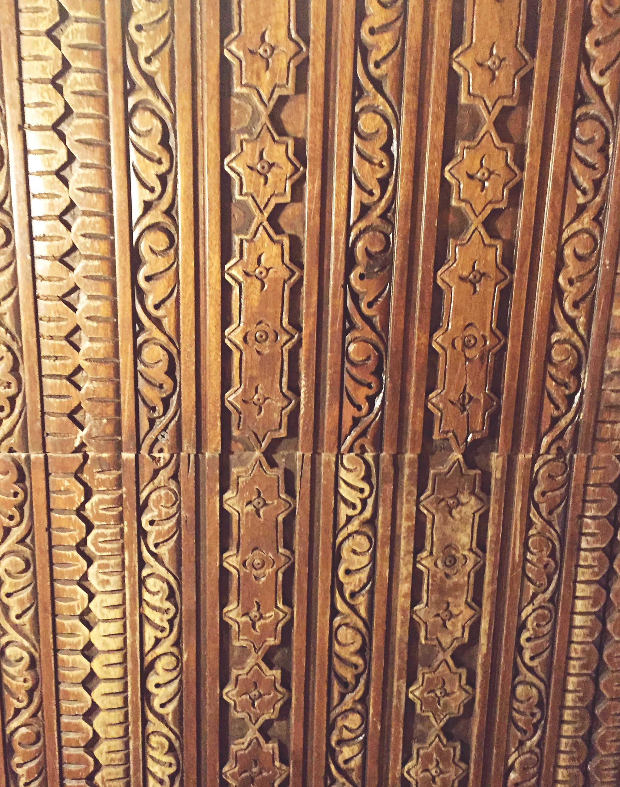 Ceiling of Inn of the Five Graces in Santa Fe, New Mexico