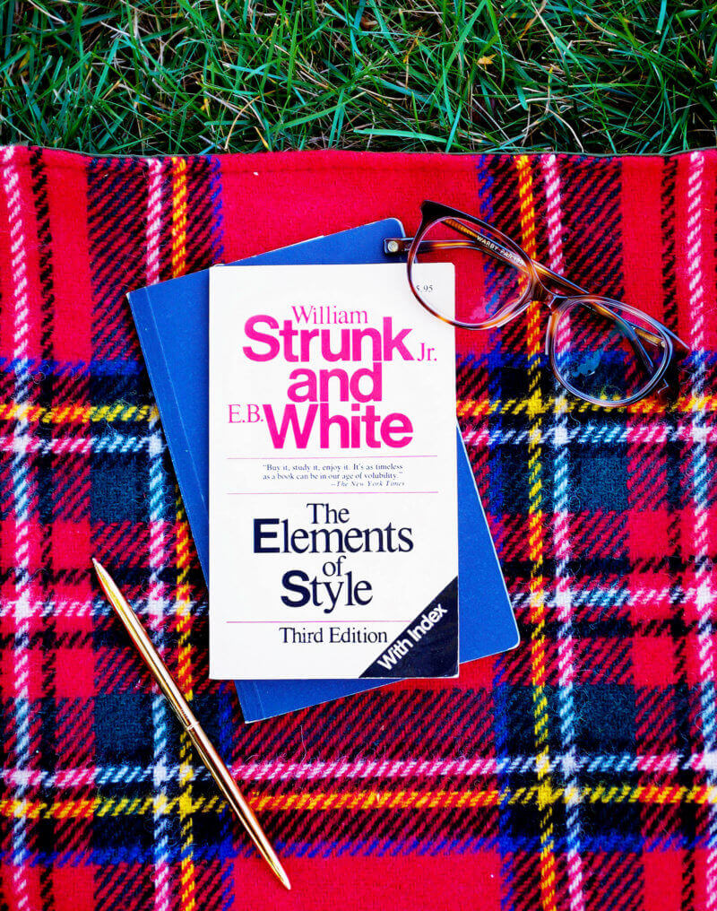 She's So Bright - Currently Reading: Strunk and White's The Elements of Style