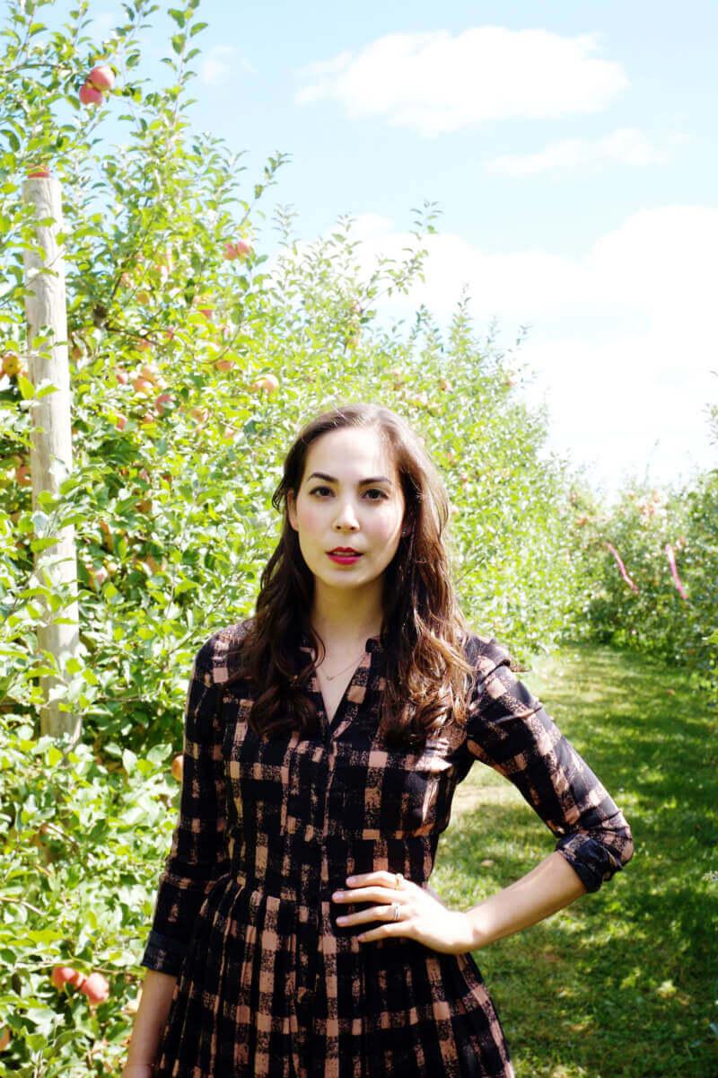 She's So Bright - Eva in the apple field