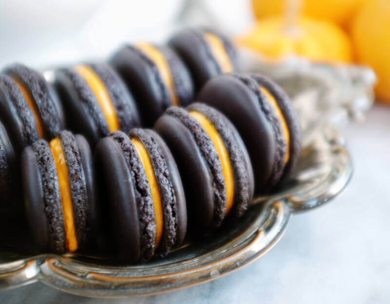 She's So Bright - Perfectly Spooky Halloween Macarons