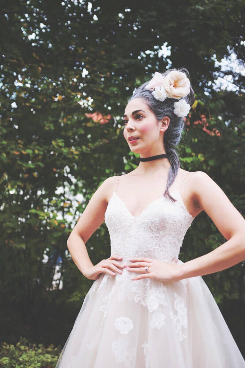 She's So Bright - Marie Antoinette Halloween Costume