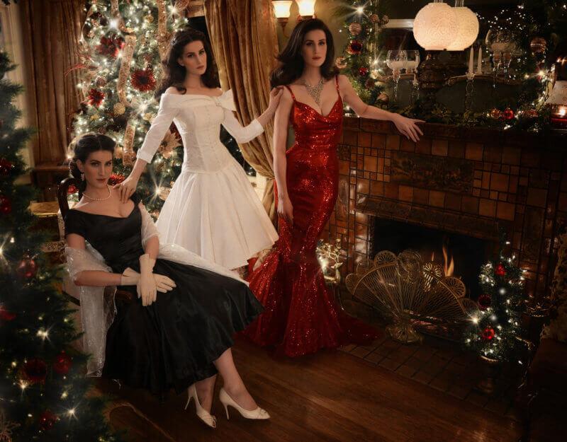 Christine McConnell Christmas dresses