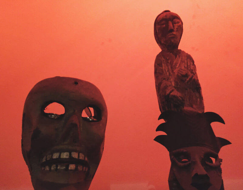 She's So Bright - New Orleans Voodoo Museum