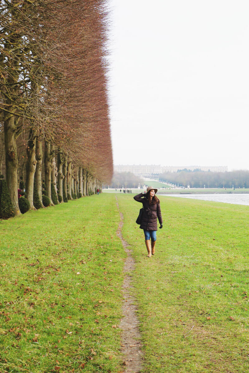 She's So Bright - A Visit to Versailles in Winter