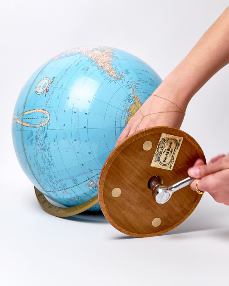 She's So Bright - Updating a Globe From My Childhood