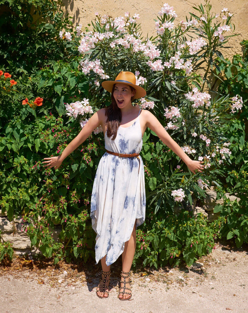 She's So Bright - Among the Wildflowers of Gordes