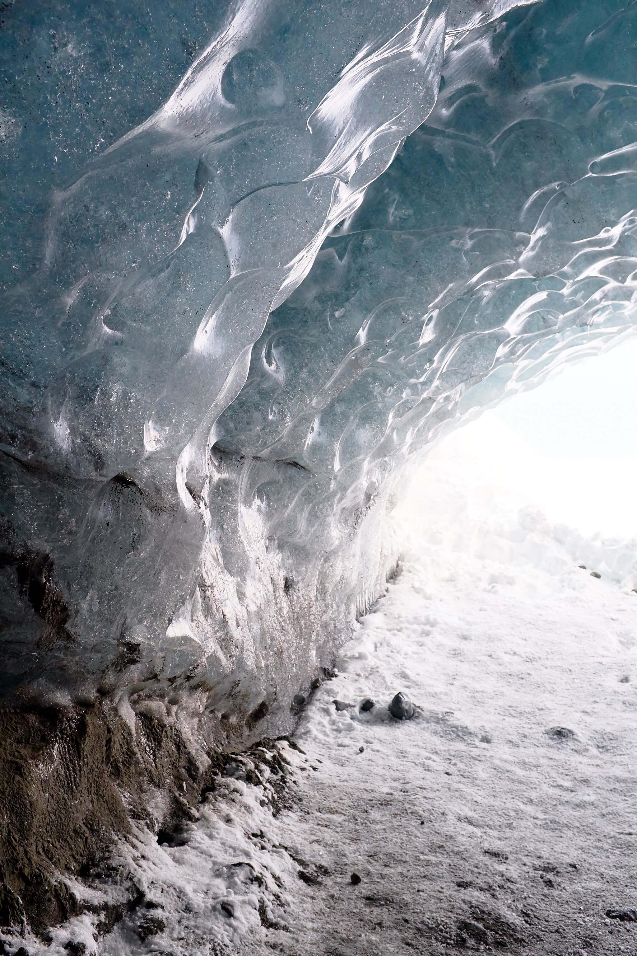 She's So Bright - Into the Ice Caves of Vatnajökull