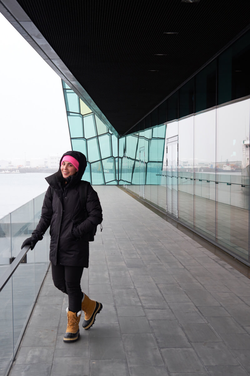 She's So Bright - Snowy Reykjavik and a Soak in the Blue Lagoon