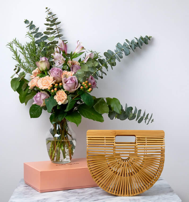 She's So Bright - You Need This Bamboo Bag for Summer