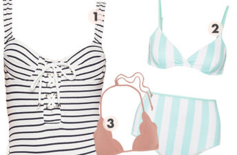She's So Bright - French Riviera Inspired Swimsuits