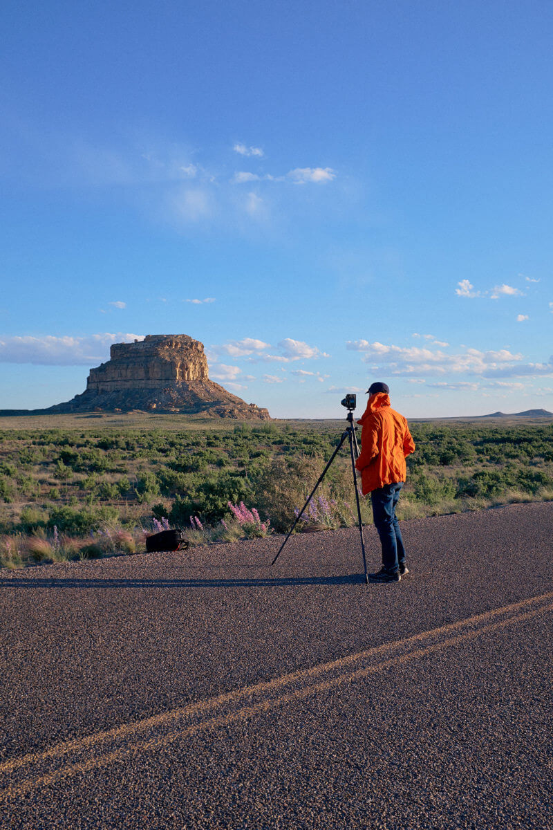 She's So Bright - Camping and Night Photography At Chaco Culture