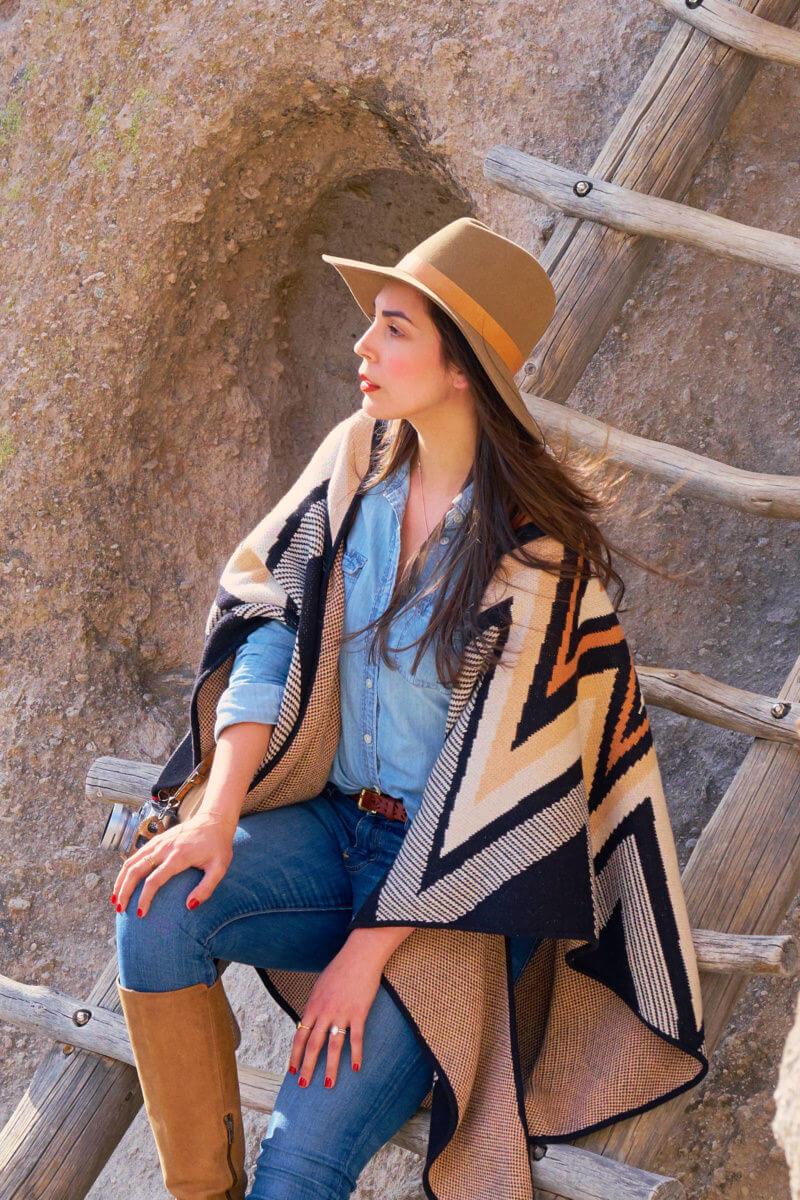 She's So Bright - Exploring Bandelier National Monument