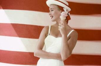 She's So Bright - Happy Fourth of July!