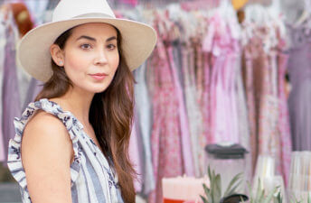 She's So Bright - A Visit to St. Tropez's Farmers Market