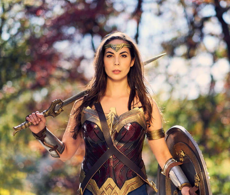 She's So Bright - Becoming Wonder Woman