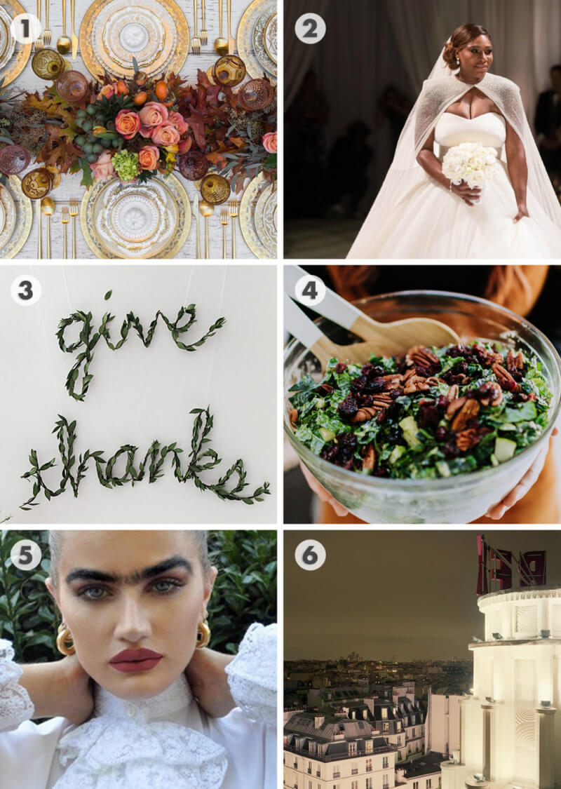 She's So Bright - 6 Links to Brighten Your Thanksgiving