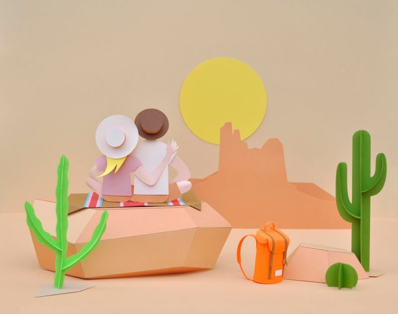 She's So Bright - The Paper Art of Chloé Fleury
