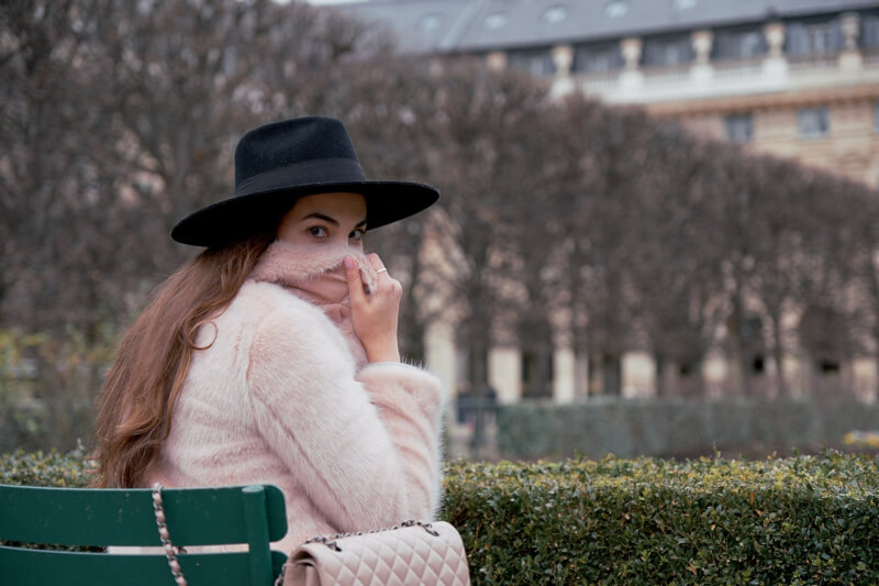 She's So Bright - Pink and Fluffy in the Palais Royal