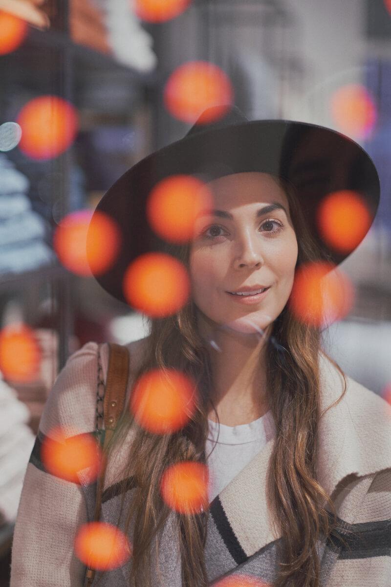 She's So Bright - A Portrait Session at Le Bon Marché