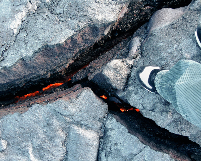 She's So Bright - That Time We Stood on Lava