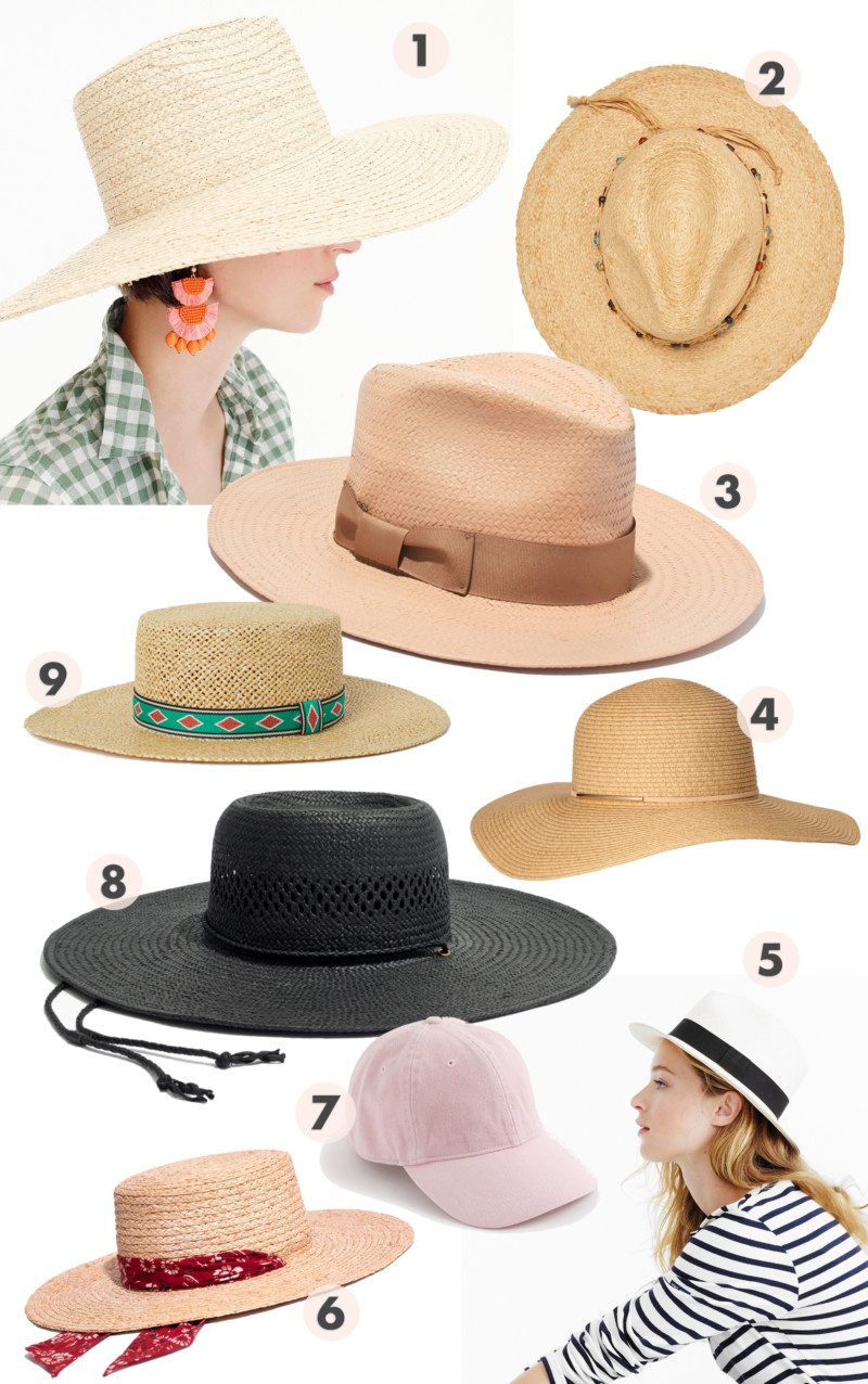 She's So Bright - The Most Affordable (And Chic) Hats for Summer