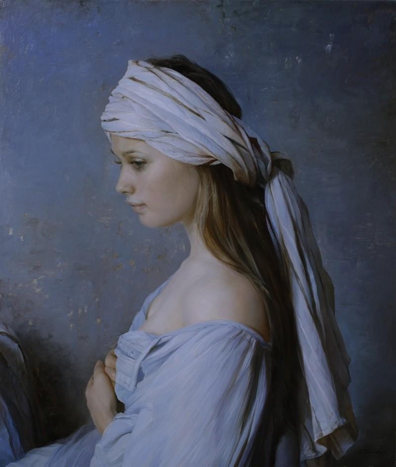 She's So Bright - Serge Marshennikov's Beautiful Paintings