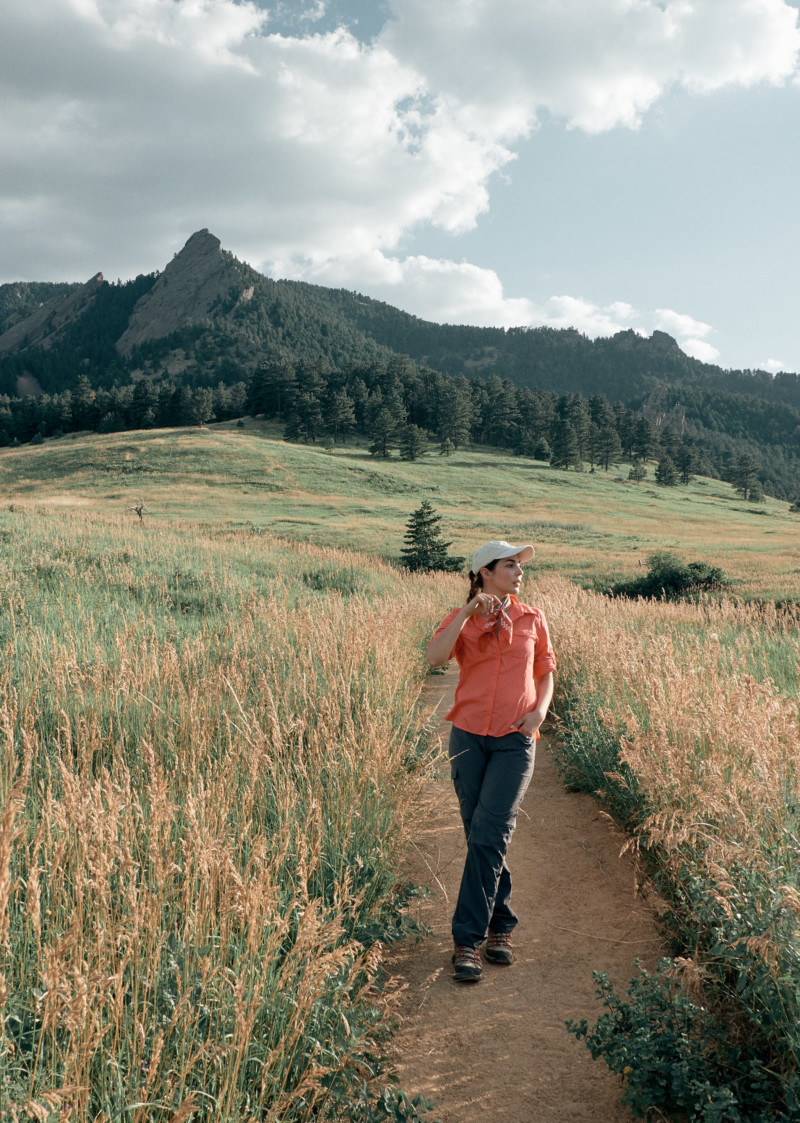 She's So Bright - Greetings from Colorado. Boulder, flatirons, mountains, grains, fields, outdoorsy, hiking.