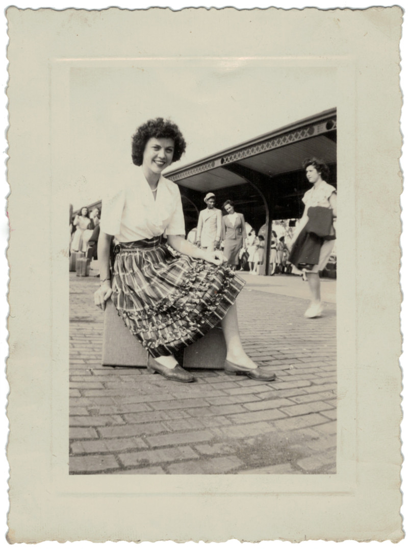 She's So Bright - Saying Goodbye to Grandma Marie, Vintage, Kodachrome, oldschoolcool, vintage style, vintage photograph