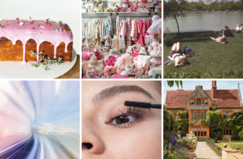 She's So Bright - 6 Links to Brighten Your Week. My Name is Yeh, Rose Cake, Vintage Stores in New York City, Why You Need to Waste Time, What a Road Trip looks like in 2030, Glossier's new Lash Slick, English Country House Hotels.