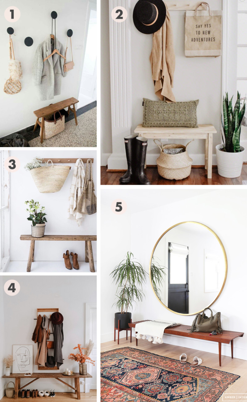 She's So Bright - Inspiration for an Updated Entryway, Inspiration collage