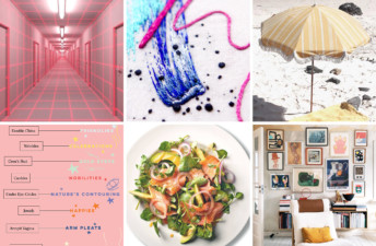 She's So Bright - 6 Links to Brighten Up Your Week, entertainment, links, fun, embroidery, instagram, beach umbrella, man repeller, salad ideas, gallery wall.