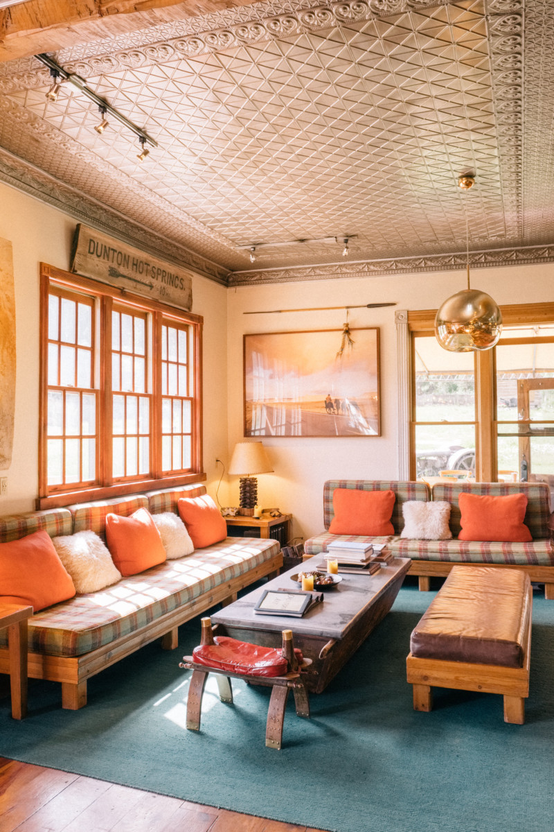 She's So Bright - Eva Goes West To Dunton Hot Springs, Telluride, Colorado, Travel, Old West, Log Cabin, Scenic, Travel Goals