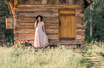 She's So Bright - Eva Goes West To Dunton Hot Springs, Telluride, Colorado, Travel, Old West, Log Cabin, Scenic, Travel Goals, Style, Rustic Style