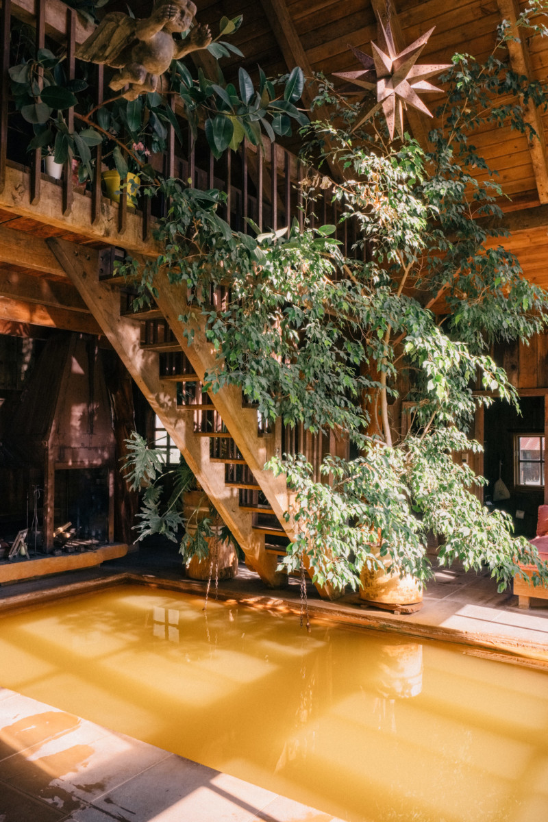 She's So Bright - Eva Goes West To Dunton Hot Springs, Telluride, Colorado, Travel, Old West, Log Cabin, Scenic, Travel Goals, Bathhouse