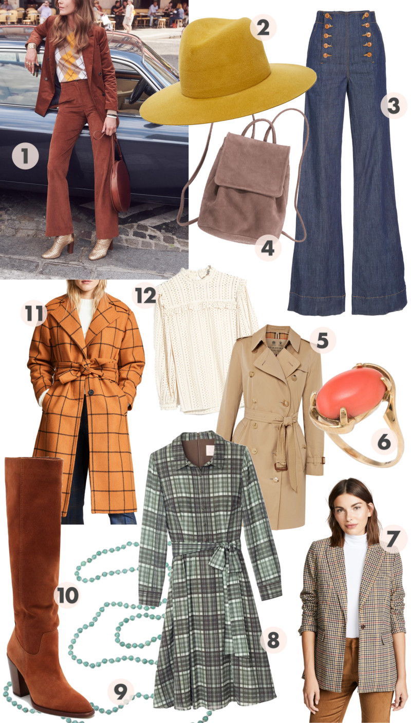Can You Dig These Groovy Fashion Picks? - She's So Bright, Style, Fall Picks, Collection, Style, Trends, Vintage