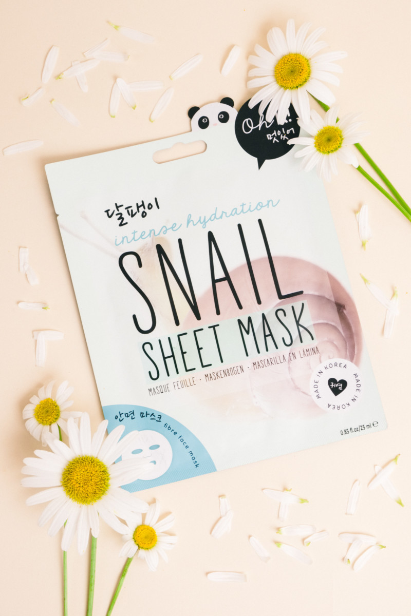 She's So Bright - Will Snail Slime Make My Skin Beautiful? Korean Facemask, beauty, try it