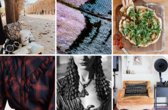 Butterfly Wings, Honey Pizza, and Fall Lattes in Paris - She's So Bright, 6 Links to Brighten Your Week, Molly Yeh, This is Colossal, This is Glamorous, Oldschoolcool, Vivian Leigh, Cozy reading nooks