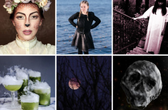Doe-Eyed Makeup, Spooky Reads and More Halloween Fun - She's So Bright, Halloween Links to Brighten Your Week, Spooky, Silly, Creative