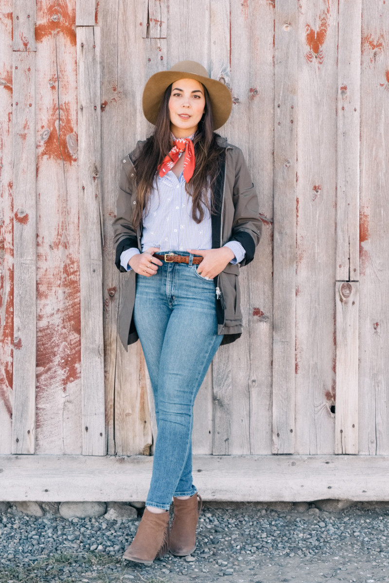 Portraits of A Cowgirl At Mormon Row - She's So Bright, Travel, Wyoming, Grand Teton, National Park, Mormon Row, Western Style, Old West