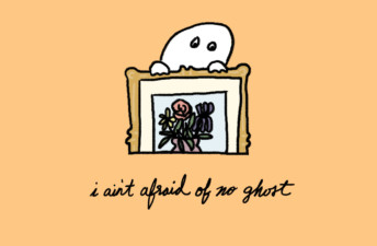 What's the Spookiest Thing That Ever Happened To You? - She's So Bright, Opinion, Graphic, Illustration, Hand drawn, Spooky, Ghost Stories, Halloween, Spooky.