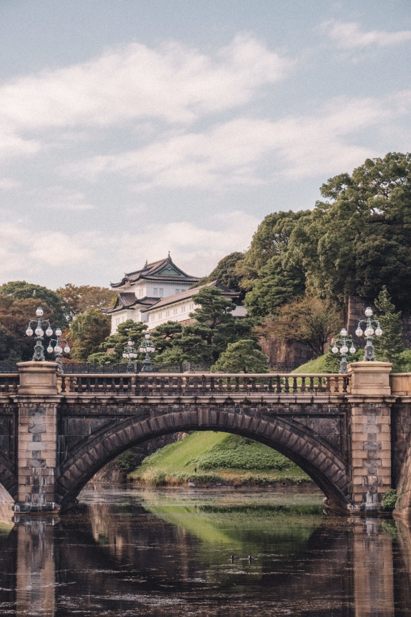 First Impressions of Tokyo - She's So Bright, Japan, City, Travel, Asia, Wanderlust, Photography, Fujifilm, Imperial Palace, Royal Family, Emperor of Japan
