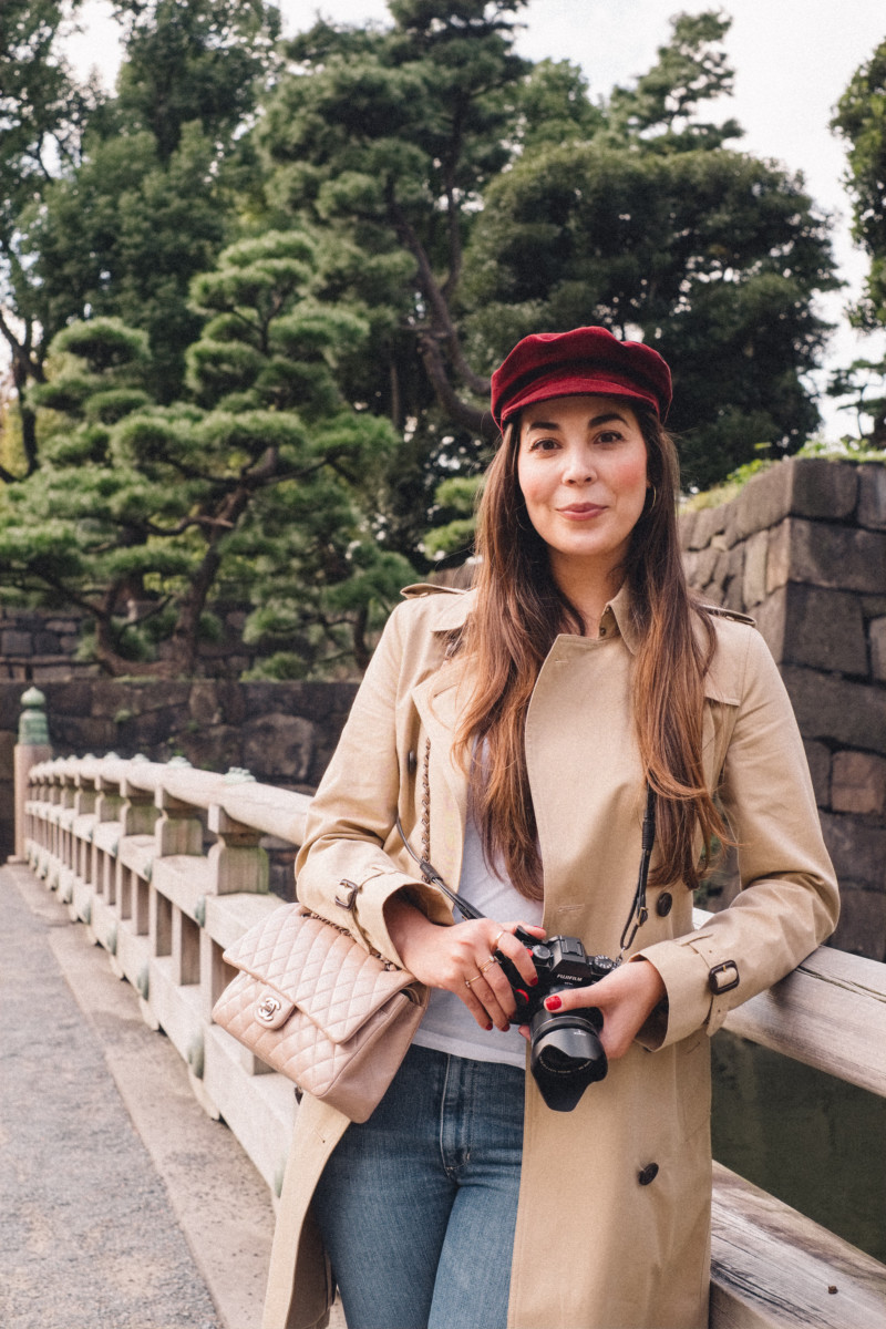 First Impressions of Tokyo - She's So Bright, Japan, City, Travel, Asia, Wanderlust, Photography, Fujifilm, Portrait, Janessa Leone, Burberry, Travel Style, Chic